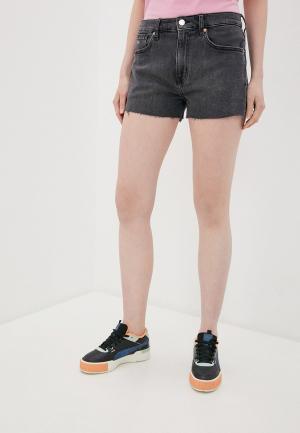 Шорты джинсовые Tommy Jeans. Цвет: серый