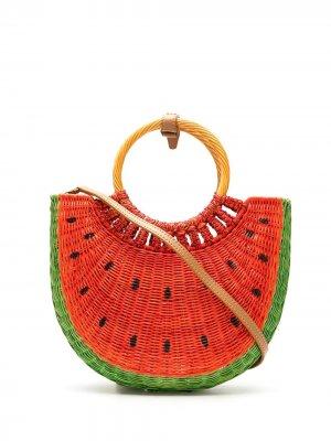 Сумка Basket Watermelon SERPUI. Цвет: красный