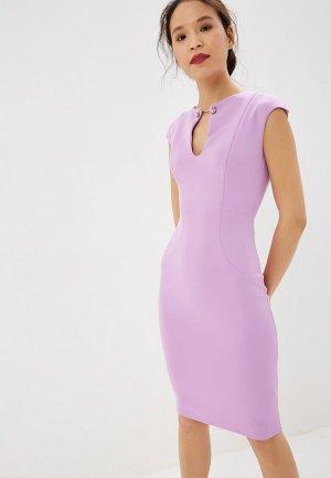 Платье City Goddess. Цвет: фиолетовый