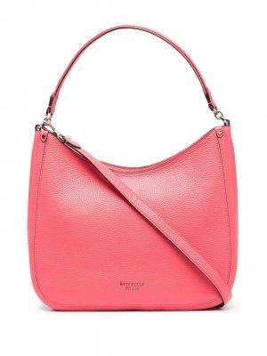 Большая сумка на плечо Roulette Kate Spade. Цвет: розовый