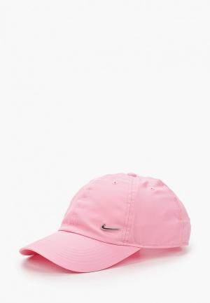 Бейсболка Nike. Цвет: розовый