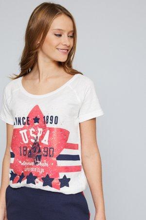 Футболка U.S. Polo Assn.. Цвет: vr013 белый