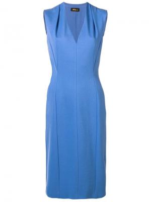 Платье без рhe Les Copains. Цвет: синий