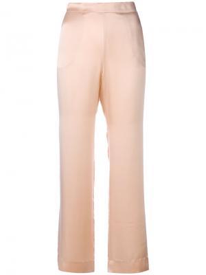 Пижамные брюки Asceno. Цвет: розовый и фиолетовый
