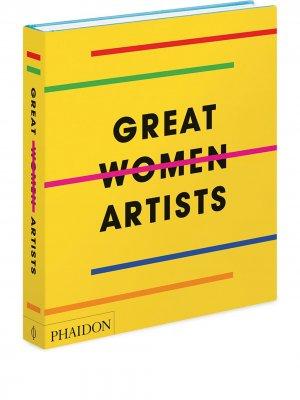 Книга Great Women Artists (290 x 250 мм) Phaidon Press. Цвет: желтый