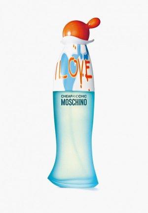 Туалетная вода Moschino. Цвет: прозрачный