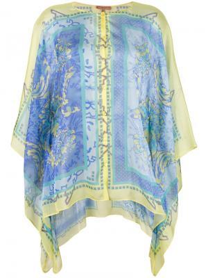Рубашка-парео Ermanno. Цвет: разноцветный