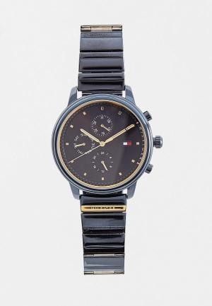Часы Tommy Hilfiger. Цвет: синий