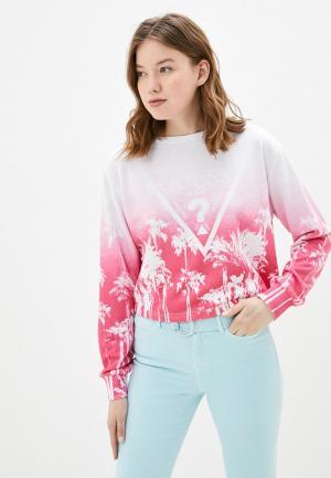 Свитшот Guess Jeans. Цвет: розовый