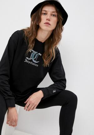 Лонгслив Juicy Couture. Цвет: черный