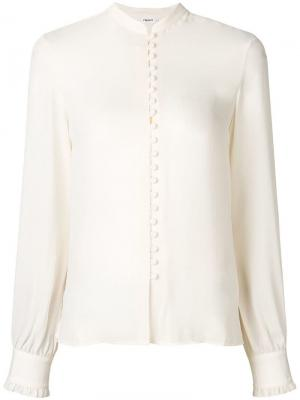 Sheer button blouse Filippa-K. Цвет: белый