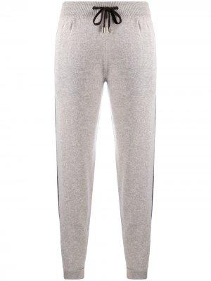 Кашемировые спортивные брюки Colombo. Цвет: нейтральные цвета