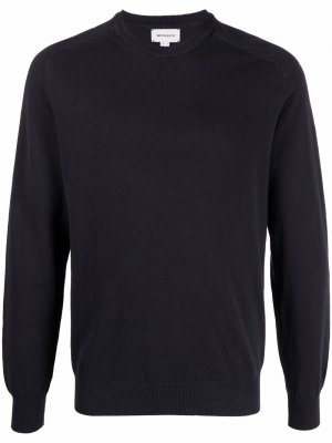Джемпер с рукавами реглан Woolrich. Цвет: синий