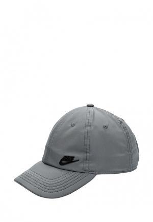 Бейсболка Nike. Цвет: серый