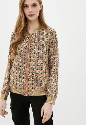 Куртка Softy. Цвет: коричневый