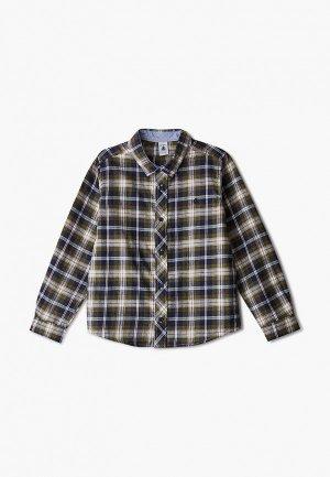 Рубашка Petit Bateau. Цвет: разноцветный