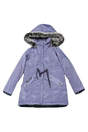 Пальто-парка Arctic Goose. Цвет: фиолетовый