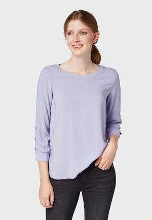 Блуза Tom Tailor. Цвет: фиолетовый