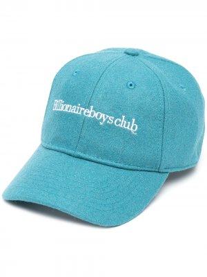 Кепка с вышитым логотипом Billionaire Boys Club. Цвет: синий