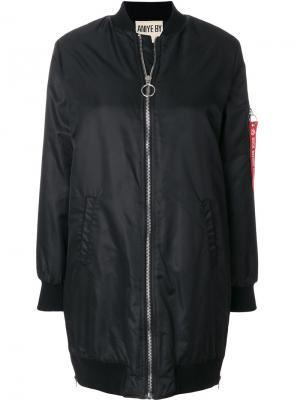 Объемная куртка-бомбер Aniye By. Цвет: чёрный