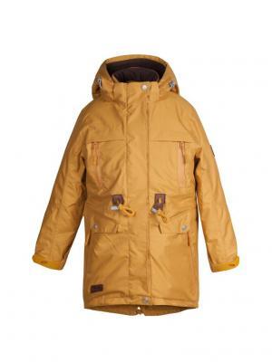 Куртка atPlay. Цвет: горчичный