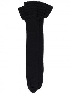 Чулки Velvet de Luxe 50 Wolford. Цвет: черный