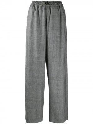 Широкие брюки Preen By Thornton Bregazzi. Цвет: серый