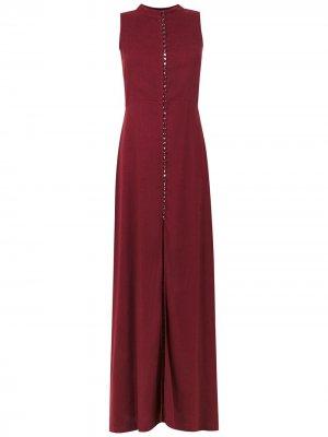 Вечернее платье Romania Olympiah. Цвет: красный