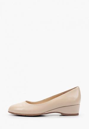 Туфли Zenden Collection. Цвет: бежевый