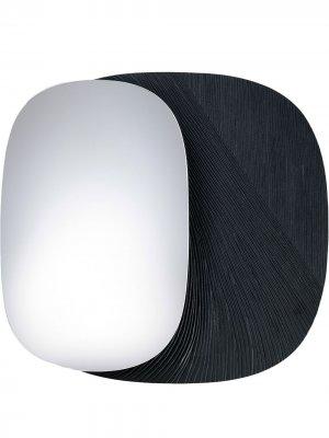 Настенное зеркало Eclipse (34 см) Zanat. Цвет: черный
