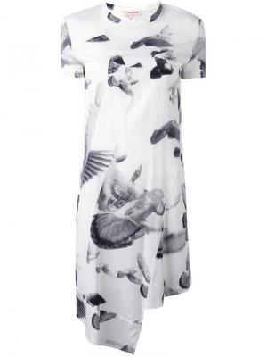 Платье Fonder A.F.Vandevorst. Цвет: белый