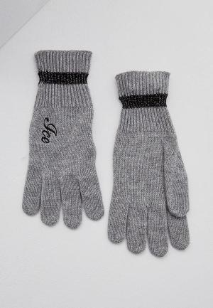 Перчатки Ice Play. Цвет: серый