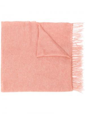 Knitted scarf Alysi. Цвет: розовый