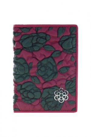 Обложка на паспорт Fiora More. Цвет: бордовый