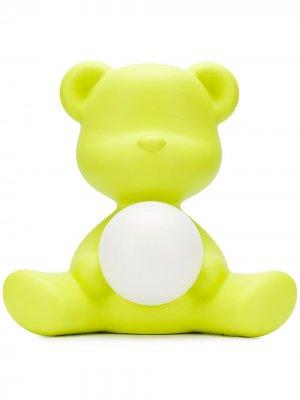 Лампа в виде медведя Qeeboo. Цвет: желтый