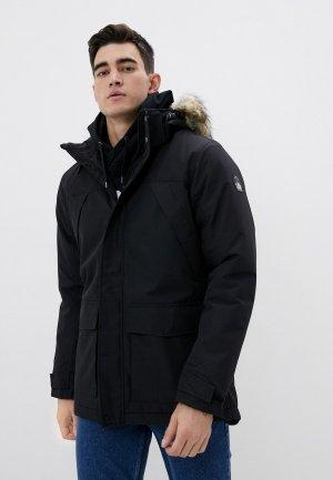 Куртка утепленная Rukka. Цвет: черный