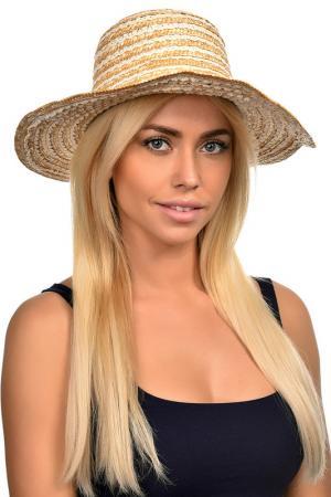 Шляпа Tonak. Цвет: солома