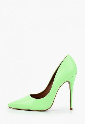 Туфли Lamania. Цвет: зеленый