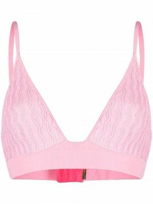 Бюстгальтер с треугольными чашками Dodo Bar Or. Цвет: розовый
