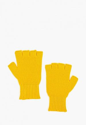 Митенки United Colors of Benetton. Цвет: желтый