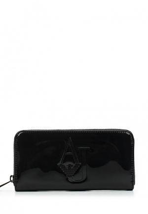 Кошелек Armani Jeans. Цвет: черный