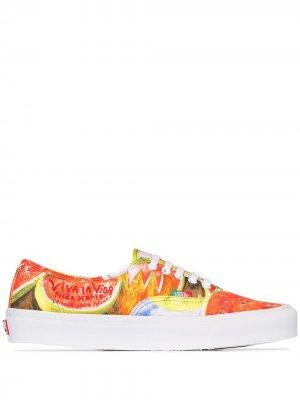 Кеды  x Frida с принтом Vans. Цвет: красный