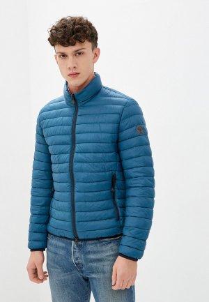 Куртка утепленная Marc OPolo O'Polo. Цвет: бирюзовый