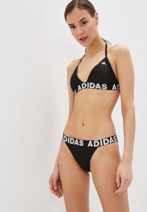 Купальник adidas. Цвет: черный