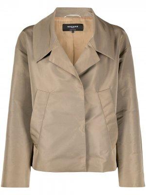 Короткая куртка с длинными рукавами Rochas. Цвет: нейтральные цвета