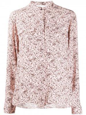 Блузка с цветочным принтом Chloé. Цвет: розовый