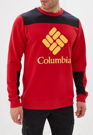 Свитшот Columbia. Цвет: красный