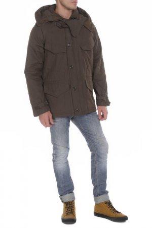 Куртка ASPESI. Цвет: зеленый