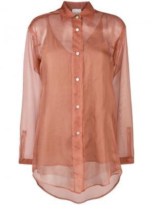 Transparent shirt Alysi. Цвет: розовый