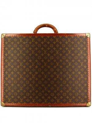 Чемодан pre-owned с монограммой Louis Vuitton. Цвет: коричневый